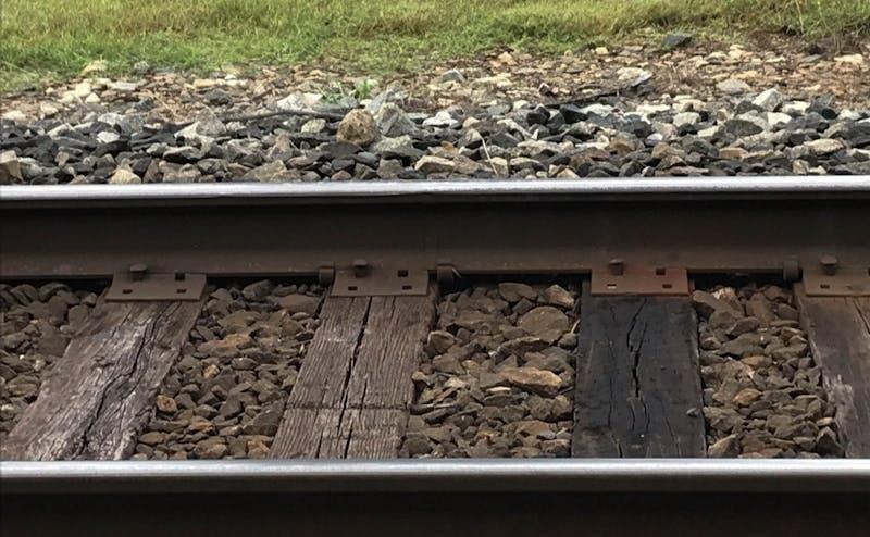 Local train tracks