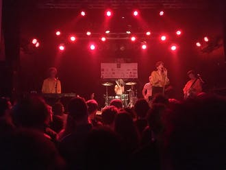 Deerhunter performs at Raleigh's Lincoln Theatre as part of the Hopscotch Music Festival, Sept. 6.