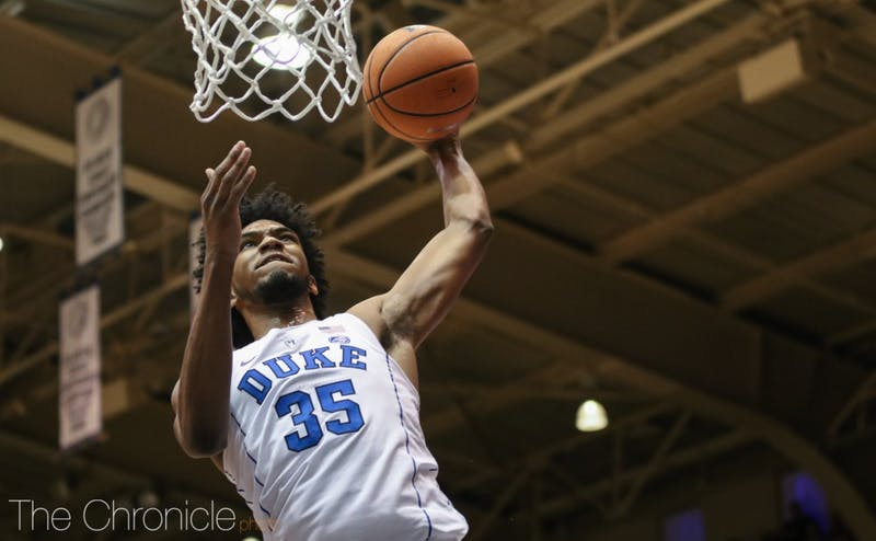 Duke is 3-0 without Marvin Bagley III, who's out nursing a mild knee sprain.