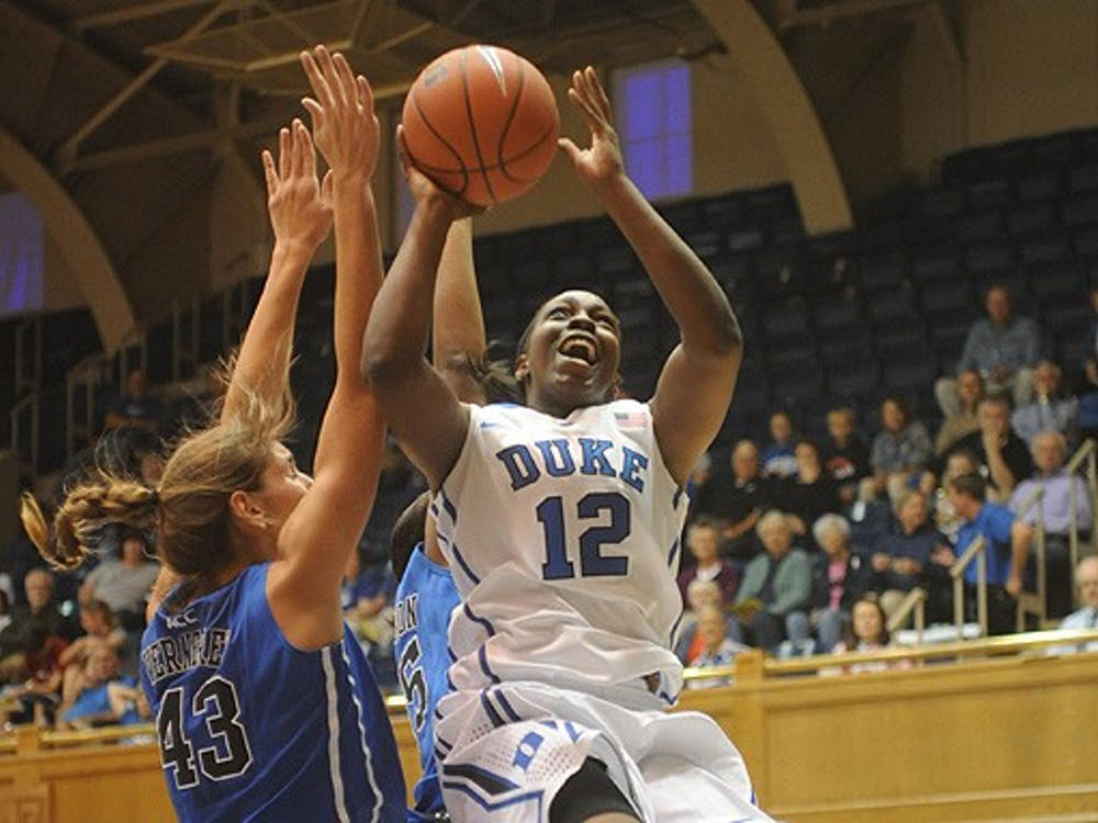 Chelsea Gray will be expected to provide much of the Blue Devils' offense this season.