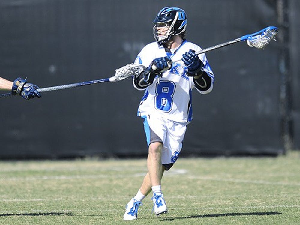 Senior Max Quinzani's four goals were enough to seal Duke's win over No. 9 Loyola Friday.