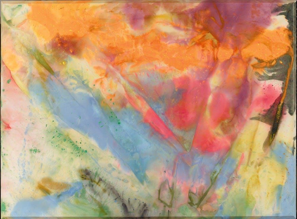"Sam Gilliam, ""After Glow."" (1972)"
