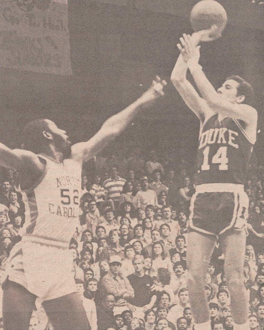 Chip Engelland shot better than 50 percent from the field all three years he played for Krzyzewski.