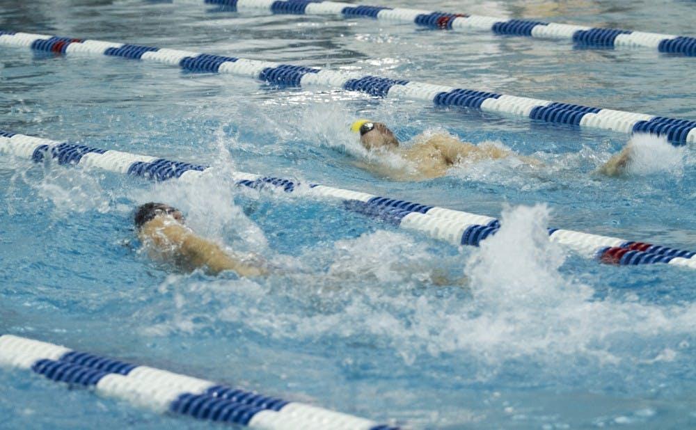 Four Blue Devil seniors will swim in their final home meet, as Duke hits the pool against Harvard and South Carolina Saturday.