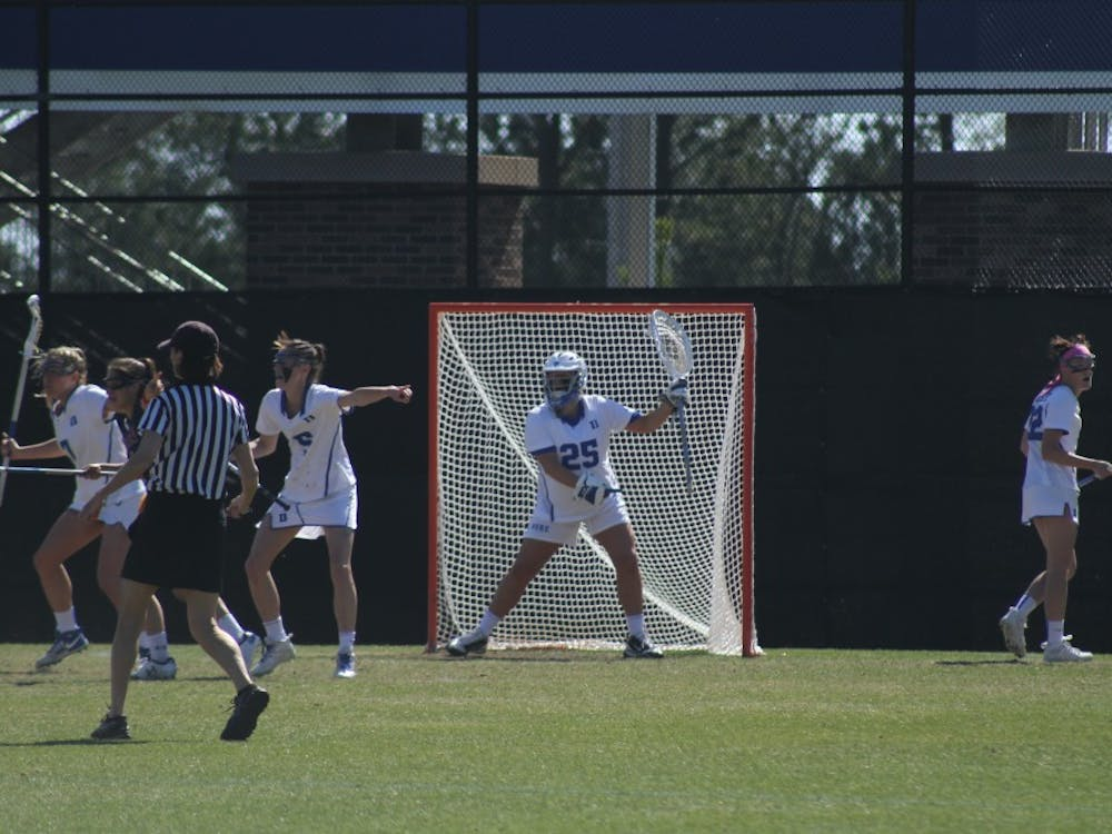 Goalkeeper Kelsey Duryearecorded her 500th career save Wednesday against Georgetown, becoming just the third Blue Devil to reach that threshold.