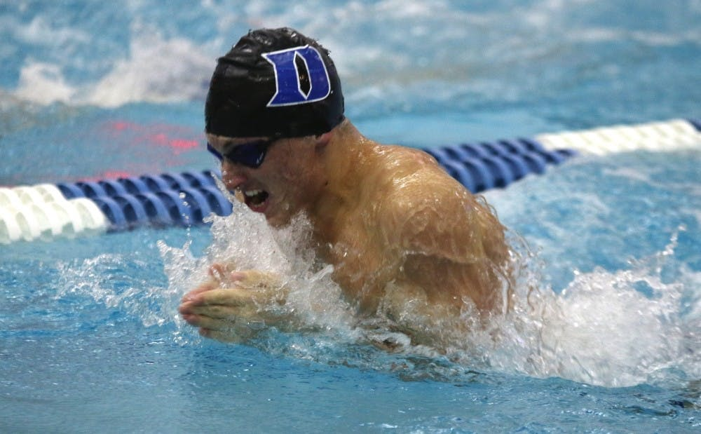 <p>The Blue Devils scored seven points at the NCAA championships this week in Atlanta after being shut out last season.</p>