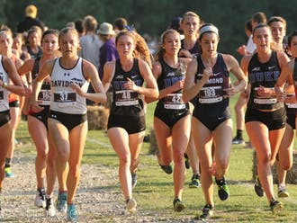 Amanda Beach and Michaela Reinhart both finished in the top 30 to lead the way for the Blue Devils Friday.
