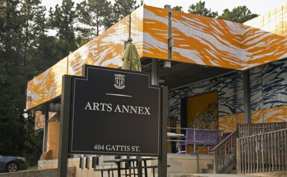 <p>Currently housed in the Arts Annex, some DukeCreate workshops will relocate to the new Duke Arts Center.</p>