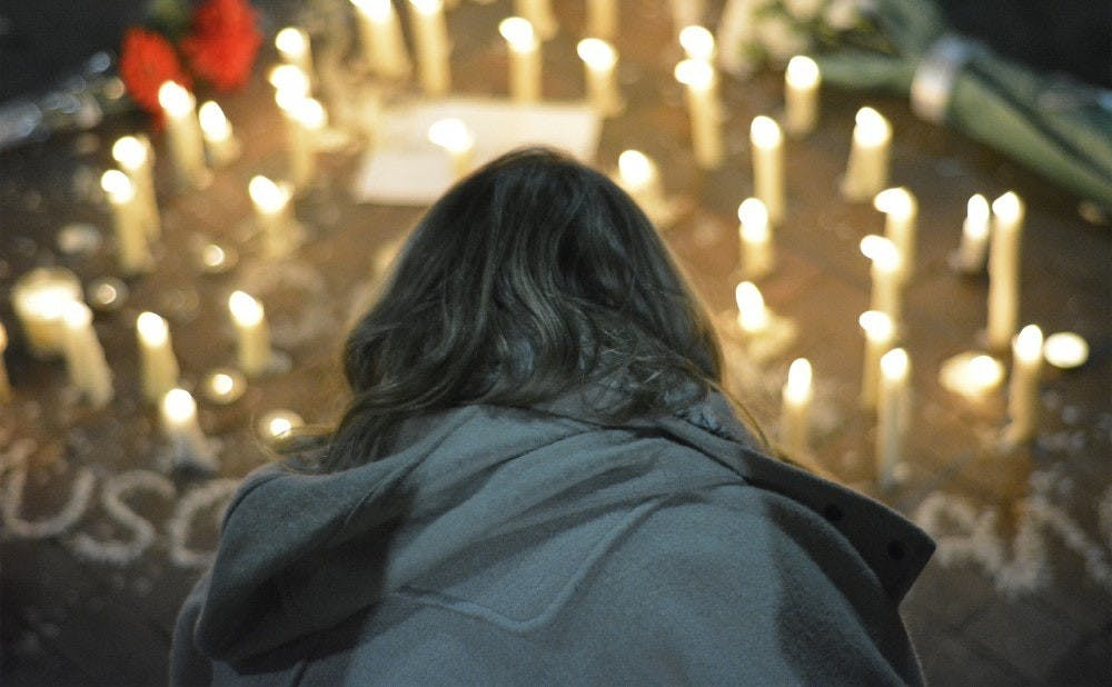 In 2015, a vigil was held for the three students who were killed.