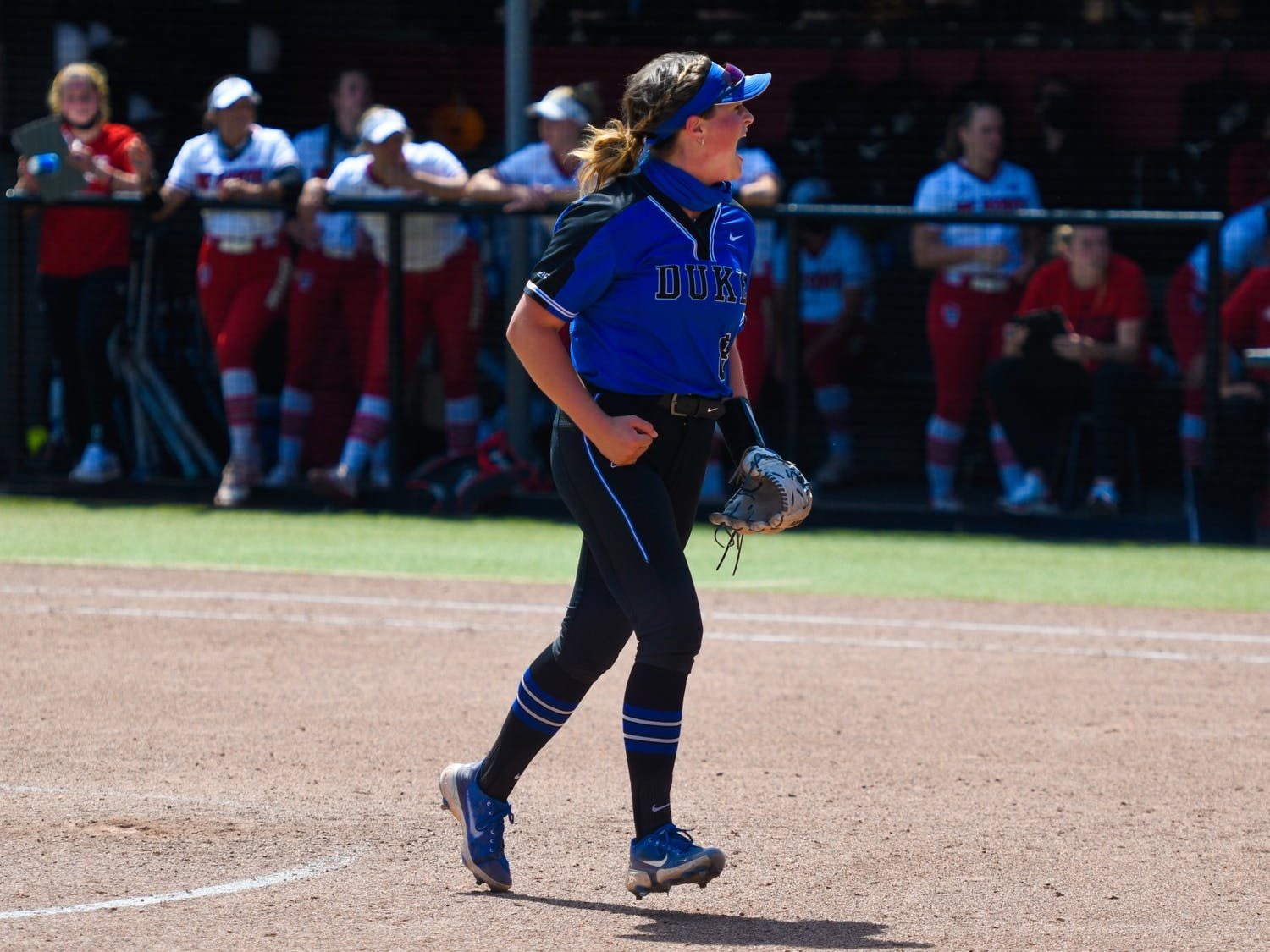 Shelby Walters pitched 10.1 scoreless innings against the Wolfpack.