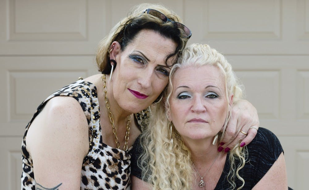 "<p>SueZie and Cheryl of Valrico, Florida, are two of the trans or gender non-conforming individuals featured in the Rubenstein Library's current exhibit ""To Survive on This Shore.""</p>"