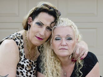 "SueZie and Cheryl of Valrico, Florida, are two of the trans or gender non-conforming individuals featured in the Rubenstein Library's current exhibit ""To Survive on This Shore."""