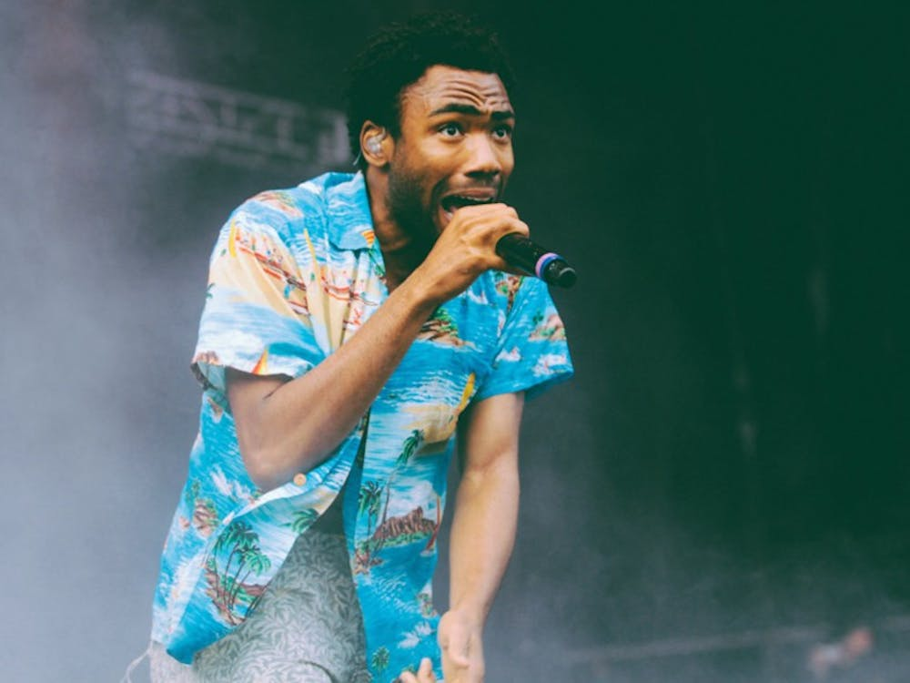 Donald Glover, who performs under the stage name Childish Gambino, at Lollapalooza in 2014.