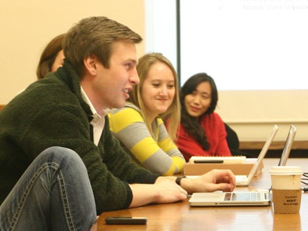 At their meeting Tuesday night, junior Yi Zhang was elected president of Duke University Union.