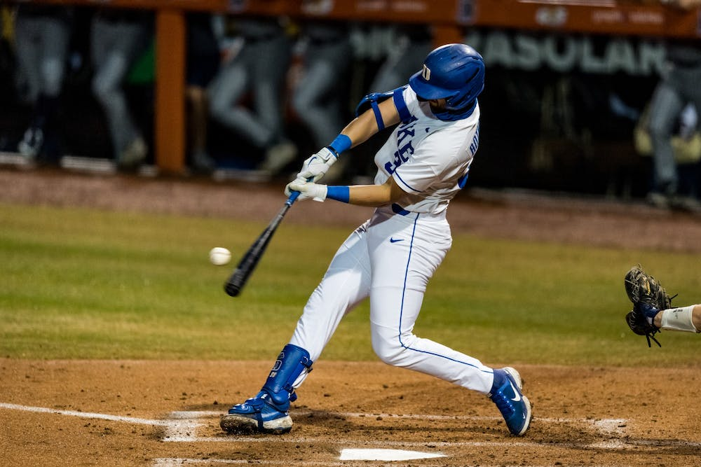 Catcher Michael Rothenberg homered and hit two doubles in Duke's series finale against Georgia Tech.