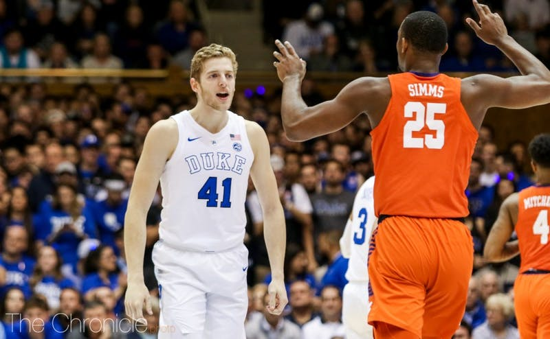 Captain Jack White's leadership will be important during Duke's first road game.