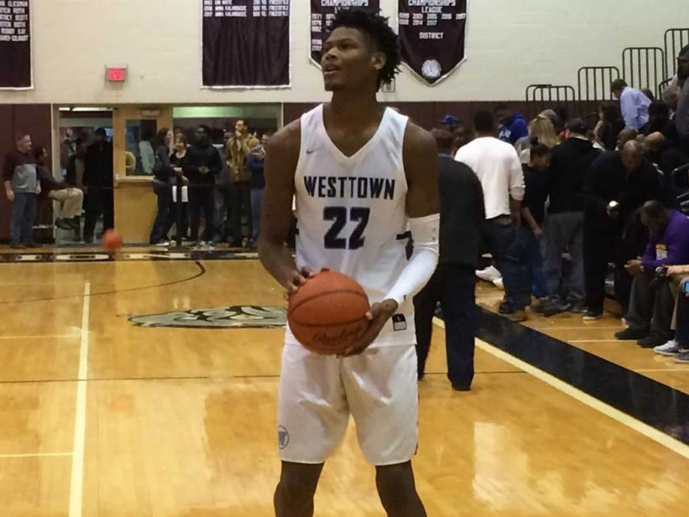 The No. 3 recruit in the Class of 2018, Cameron Reddish scored 25 points for Westtown School in an overtime loss Saturday.
