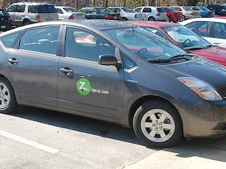 With its entire Duke fleet subject to the Toyota recalls, including the Prius model (above), Zipcar left only one car—a Toyota Matrix—available to its Duke users.
