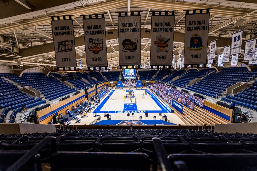 Duke takes on Coppin State in its 2020-21 season opener in a fan-less Cameron Indoor Stadium.