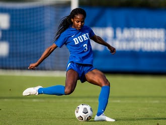 The senior is currently fifth in Duke women's soccer history for career minutes.
