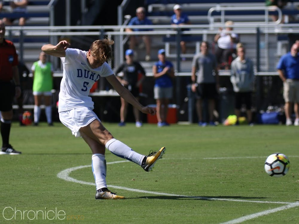 Rebecca Quinn will return to the field for the Blue Devils this weekend after missing the last three games to play for the Canadian National Team.