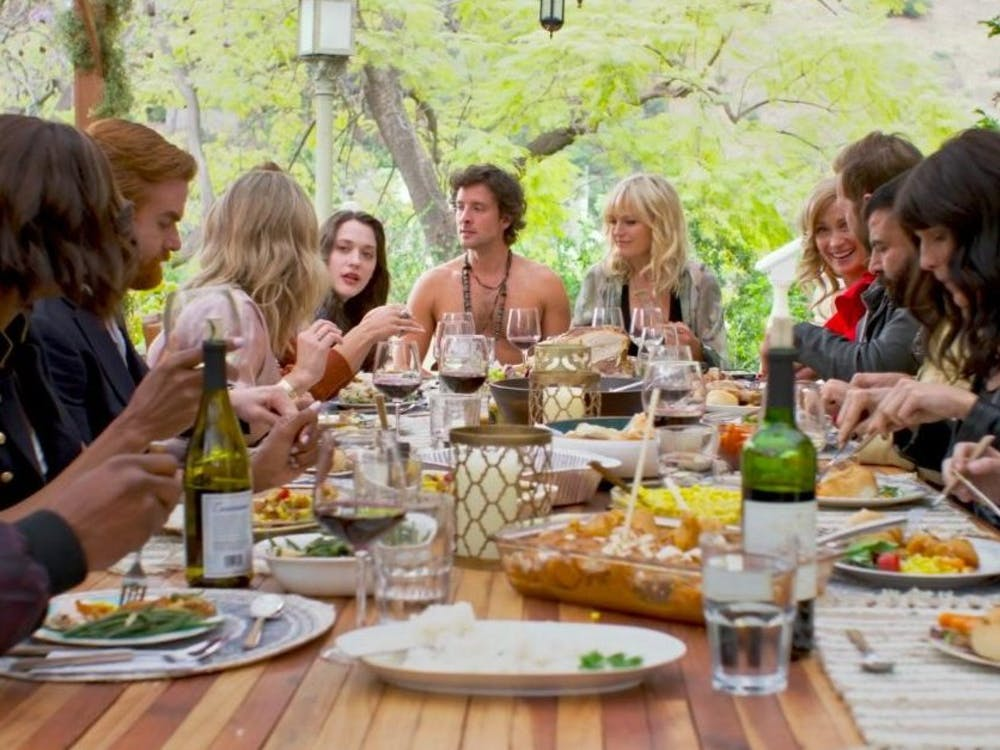 """Like a plate of gravy, """"Friendsgiving"""" is shallow, bland and hardly worth gathering for on the holiday."""