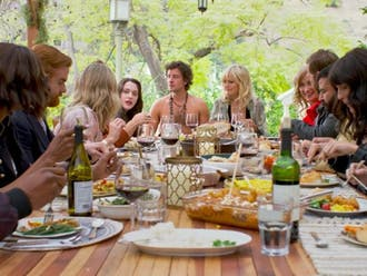 "Like a plate of gravy, ""Friendsgiving"" is shallow, bland and hardly worth gathering for on the holiday."
