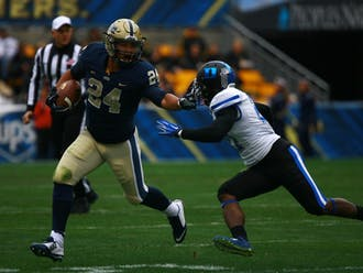 Pittsburgh running back James Conner is just one of a plethora of key ACC players that have been sidelined due to injuries this season, lowering the quality of play throughout the conference.