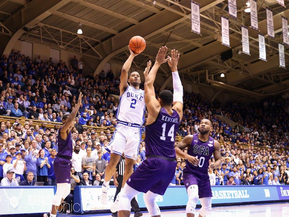 <p>Cassius Stanley missed the Michigan State game with a hamstring injury.</p>