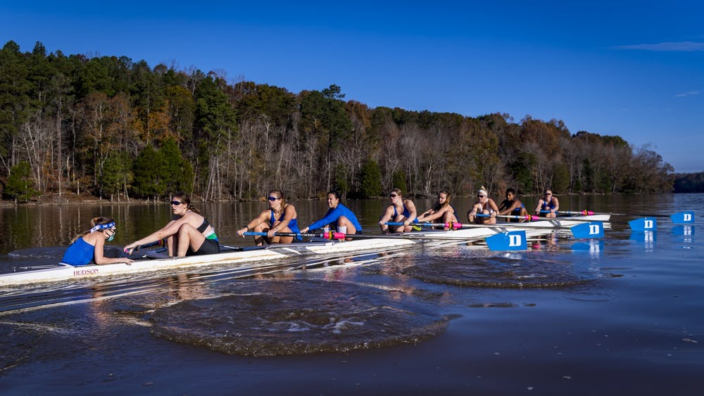 <p>This past semester was a very unique one for Duke rowing.</p>
