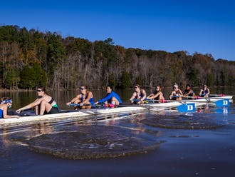 This past semester was a very unique one for Duke rowing.