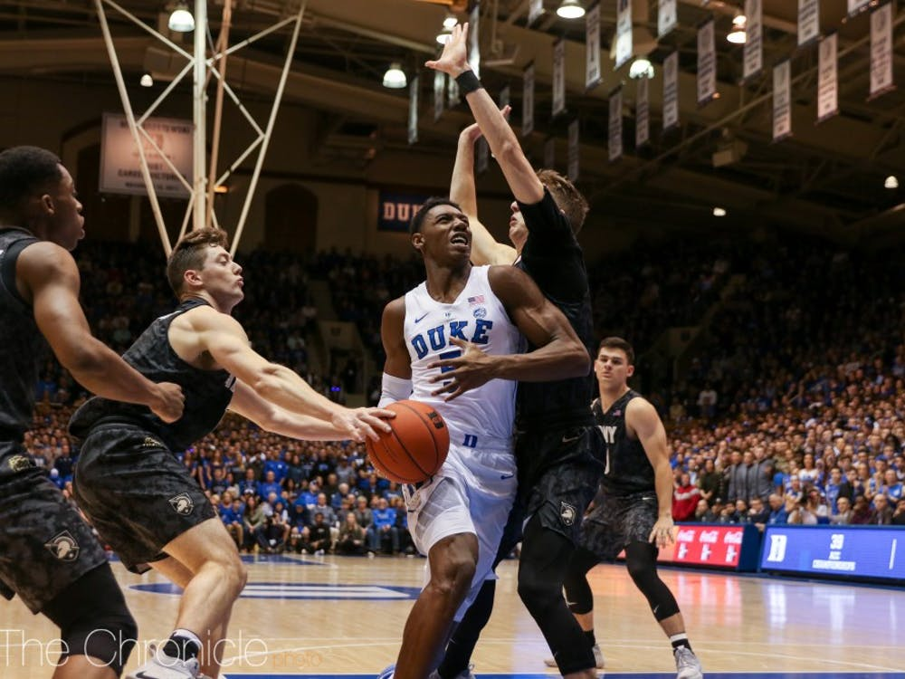 R.J. Barrett will look to rebound from a 9-for-19 shooting performance Sunday.