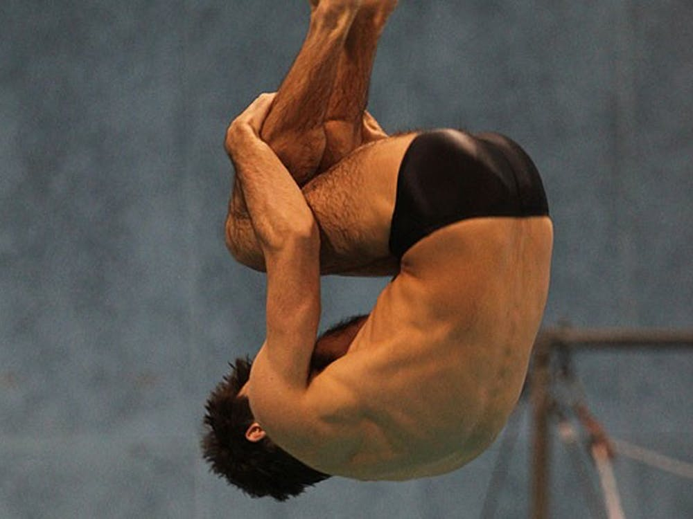 Duke diver Nick McCrory won the ACC Most Valuable Male Diver award for the third time in his career.