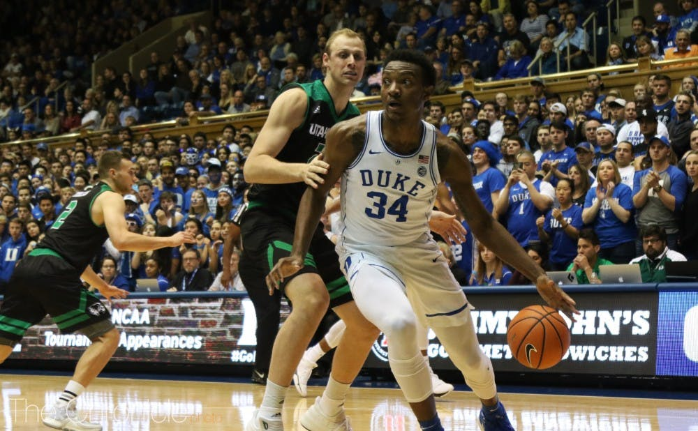 <p>Wendell Carter will battle down low with Jaren Jackson Jr. or Nick Ward.</p>