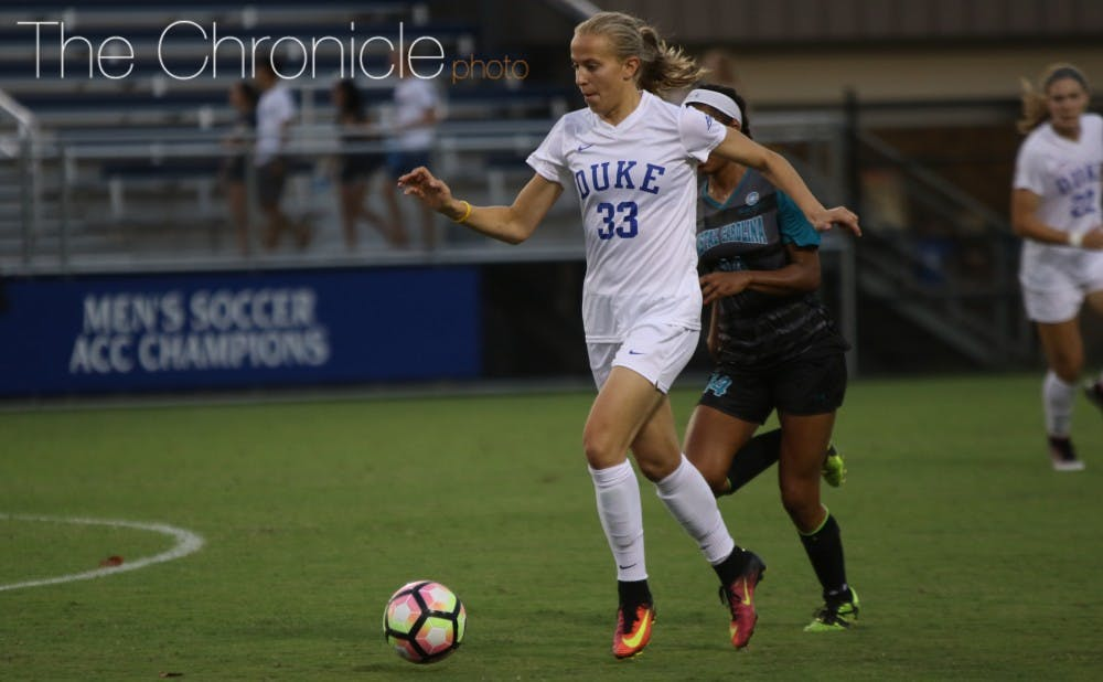 <p>Quinn returned to Durham Friday and was re-inserted into Duke's lineup Sunday evening, recording multiple shot attempts as the Blue Devils try to get their offense going again before their game against North Carolina.&nbsp;</p>