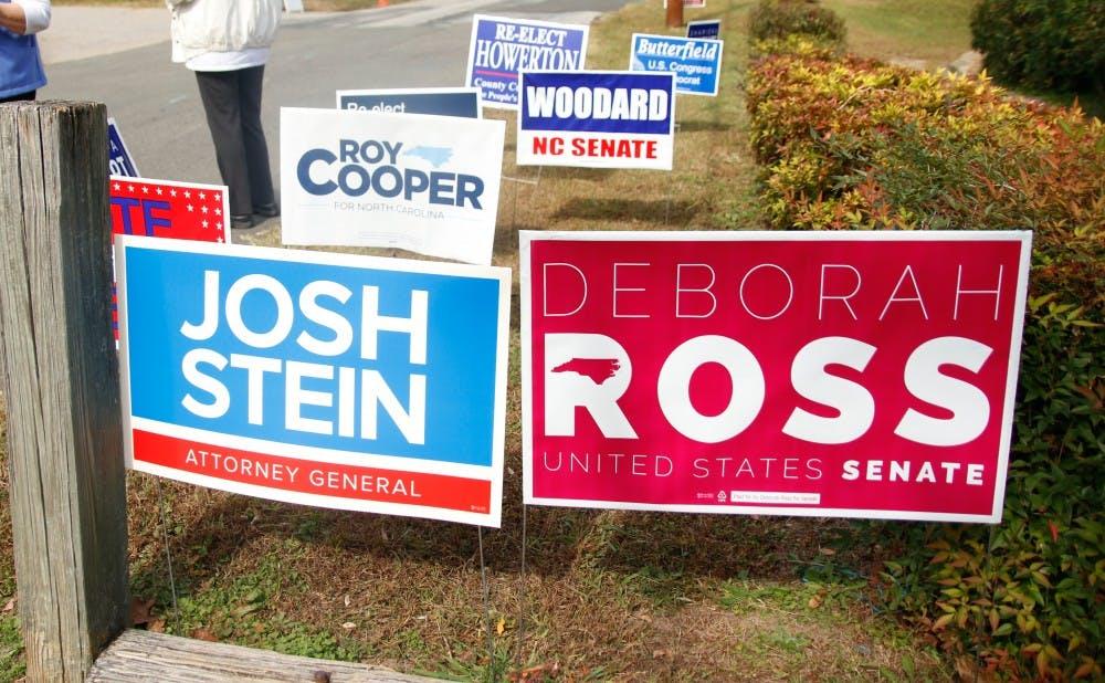 <p>Republican incumbent Richard Burr is battling Democratic challenger Deborah Ross for one of North Carolina's Senate seats.</p>