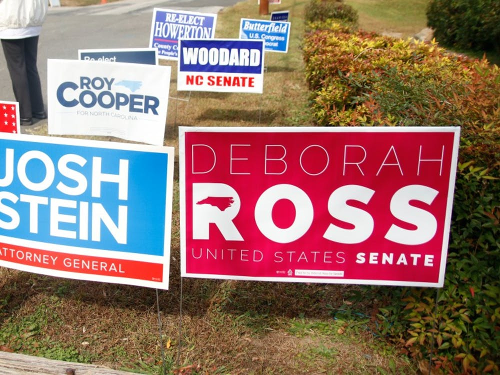 Republican incumbent Richard Burr is battling Democratic challenger Deborah Ross for one of North Carolina's Senate seats.