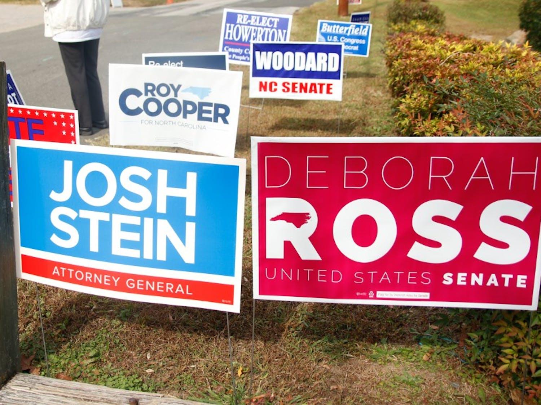 Republican incumbent Richard Burr is battling Democratic challenger Deborah Ross for one of North Carolina's Senate seats.