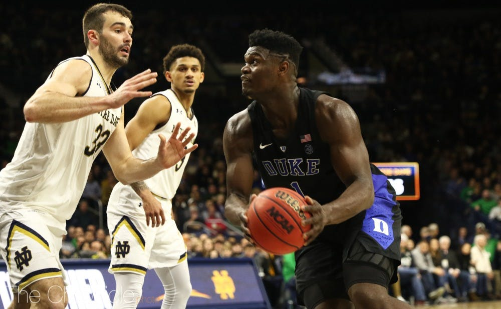 <p>Zion Williamson only missed two shots on his way to 26 points for yet another efficient outing.</p>