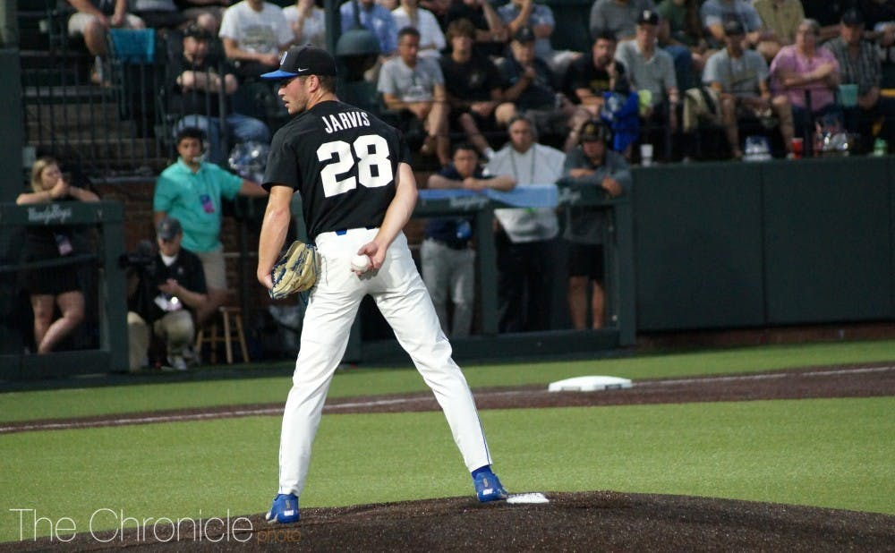 <p>Bryce Jarvis is one of many key contributors set to return to Duke for the 2020 season.</p>