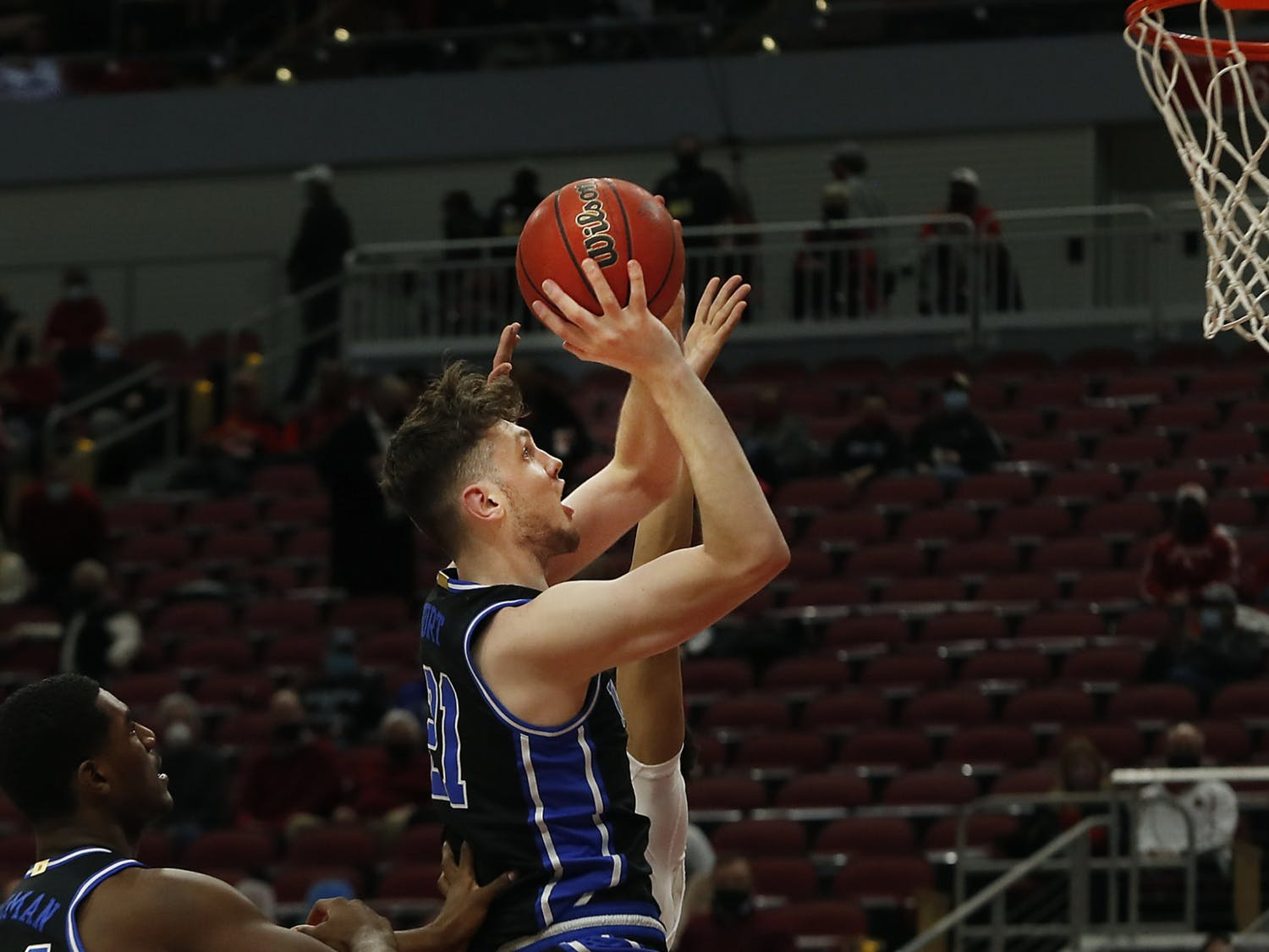 Despite Matthew Hurt's 24 points, the Blue Devils were unable to secure their first road win of the season.