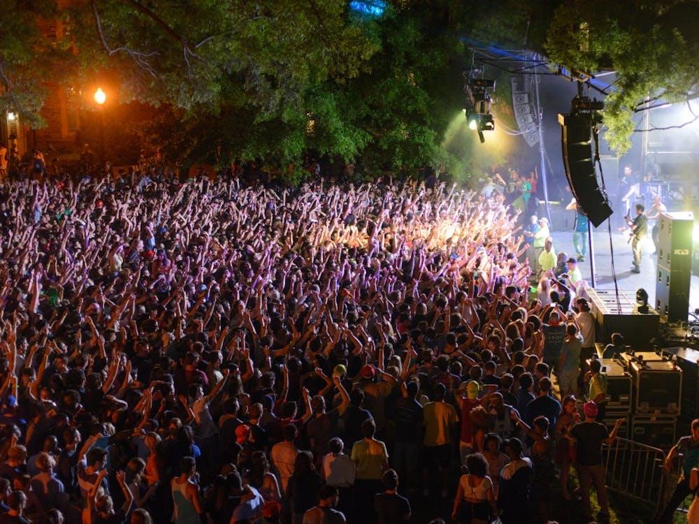 The 2013 LDOC concert featured Kendrick Lamar.