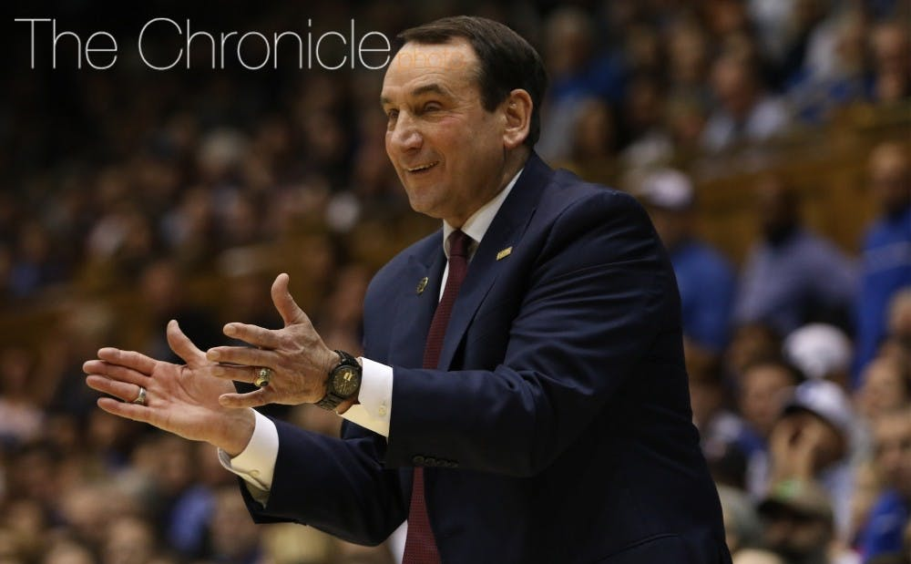 <p>Mike Krzyzewski continues to stay hot on the recruiting trail.</p>