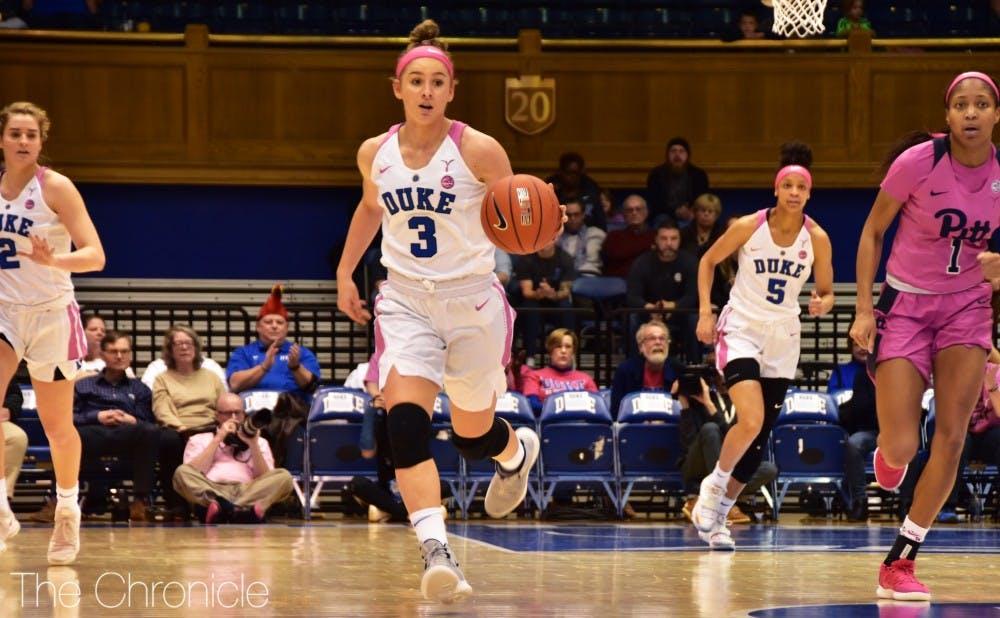 <p>Miela Goodchild has had one of the best freshman seasons in program history.</p>