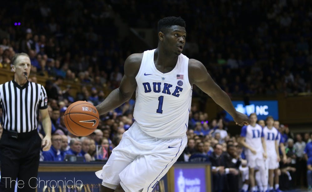 202f70cd701b Duke men s basketball uses dominant first half to take down Eastern Michigan