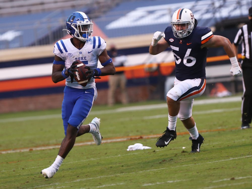 Duke football totaled seven turnovers Saturday in an ugly loss.