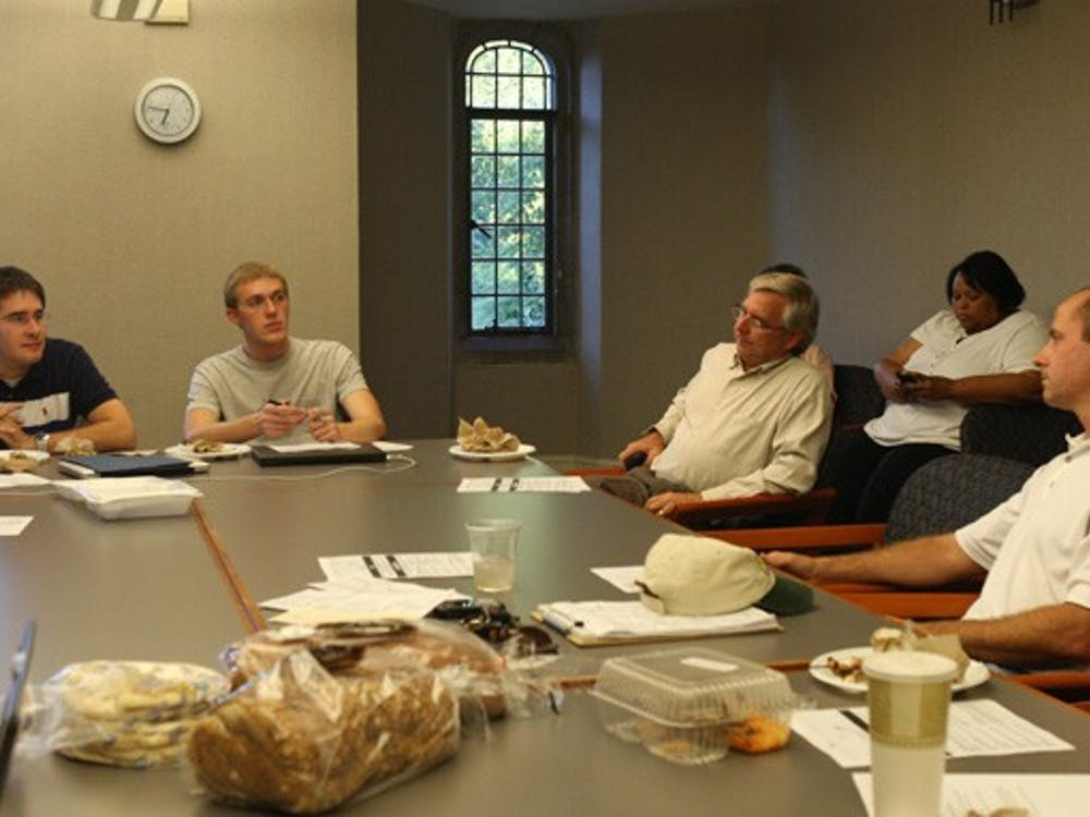 DUSDAC invited Tower owner Tom Meyer to its meeting Monday to discuss committee concerns and student feedback on the eatery.