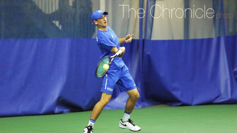 Nick Stachowiak had perhaps the biggest win of his Duke career against illinois.