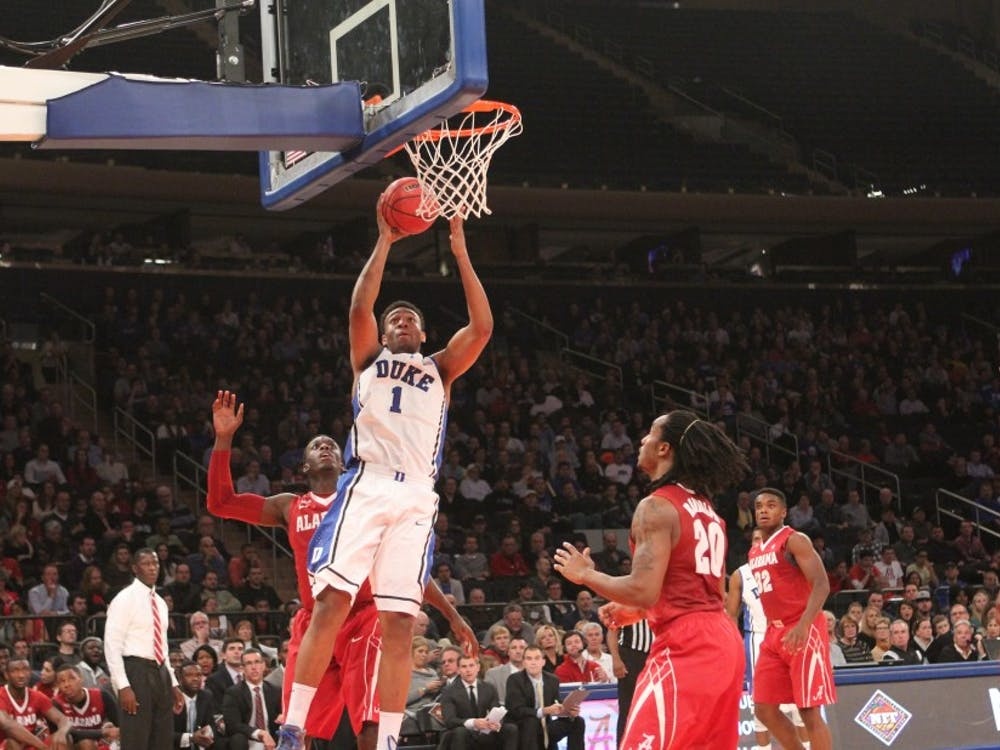 Scoring 27 points at Madison Square Garden Wednesday night, Jabari Parker found a number of ways to make the game look easy.