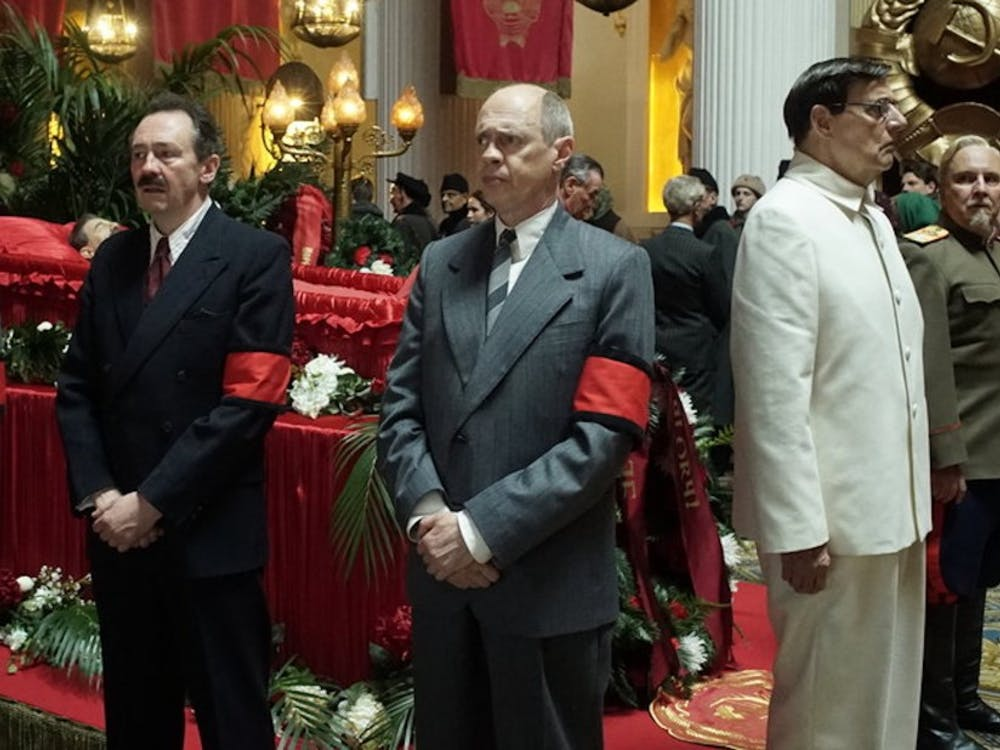 "Director Armando Iannucci's ""The Death of Stalin"" takes place in 1953 Soviet Union but features mostly American and British actors."